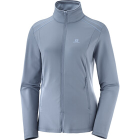 Salomon Discovery LT Jacket Women grey